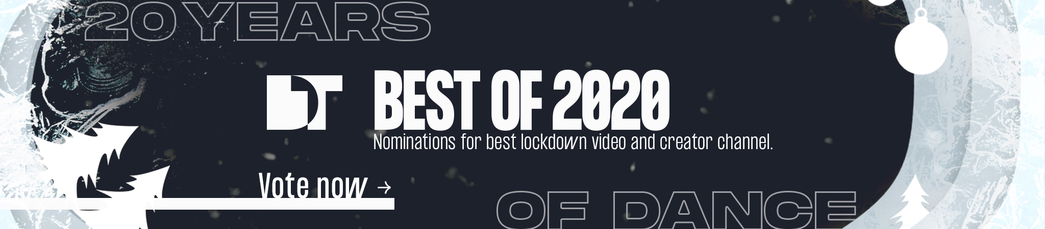 Vote for your favourite vids and creators!